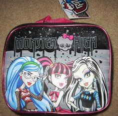 Monster High Lunch Box, it has her favorite, Ghoulia.