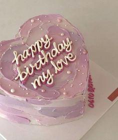 Pretty Birthday Cakes, Pretty Cakes, Beautiful Cakes, Amazing Cakes, Cake Birthday, Birthday Cake Decorating, Pink Birthday, 16th Birthday, Birthday Ideas