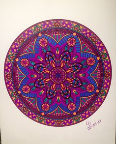 ColorIt Mandalas Volume 2 Colorist: LeiLoni Dearinger #adultcoloring #coloringforadults #mandalas #mandalastocolor