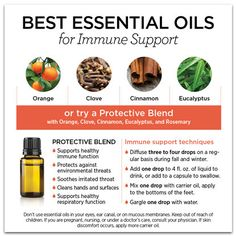 Essential oils for supporting your immune system