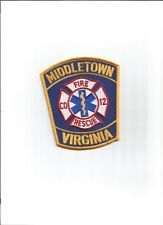 Middletown Fire Rescue  Patch Virginia VA (EMS-Police-Law Enforcement)+NICE+