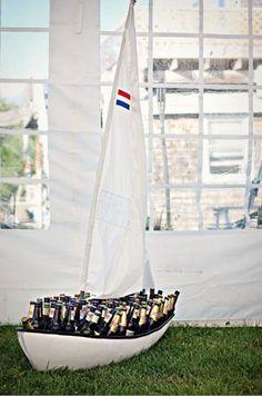 Booze boat sets sail!