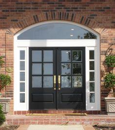 Divided Lite Wood Door Gallery – The Front Door Company | Front Door ...