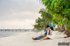 Las Terrazas Elopement | Ambergris Caye, Belize Weddings | Jose Luis Zapata Photography