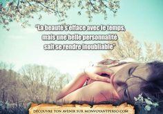 «La beauté s'efface avec le temps, mais une belle personnalité sait se rendre inoubliable» Je manque de confiance en moi, quelle méthode pour l'aborder? La vérité dévoilée par un véritable voyant gratuitement:  01.75.75.30.78             http://monvoyantperso.com/quote/view/425/une-personne-inoubliable/