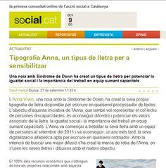 SOCIAL.CAT   27-9-12  http://www.social.cat/noticia/3146/tipografia-anna-tipografia-per-a-sensibilitzar