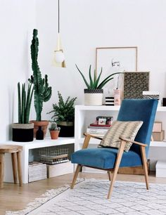 Happy Living Room Ideas With Plants   Visit and follow homedesignideas.eu for more inspiring images and decor ideas