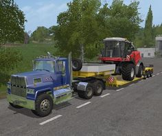 FS17 release Peterbilt 389 modified semi v2  with B double ups