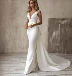 Formal Dresses For Weddings, Sexy Wedding Dresses, Designer Wedding Dresses, Bridal Dresses, Wedding Gowns, Dress Formal, Formal Wear, Wedding Bells, Mermaid Bridal Gowns