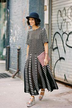 Vanessa Jackman: New York Fashion Week SS 2014.... Yasmin Sewell