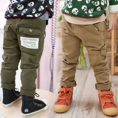 2014 spring and autumn spring boys clothing baby child fashion casual pants long trousers Kids Garden Swing, Baby Boy Outfits, Kids Outfits, Pantalon Long, Cheap Pants, Kids Pants, Child And Child, Korean Outfits, Long Pants