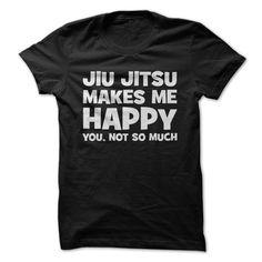 Jiu Jitsu Makes Me Happy