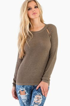 On A Good Day Sweater ~ TOBI