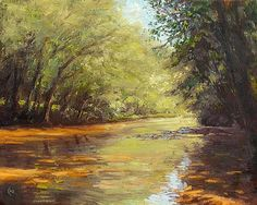 Neshanic Summer - Landscape Paintings by Joe Kazimierczyk