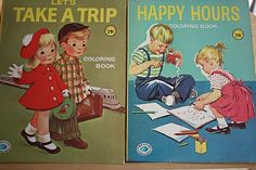 vintage coloring books - Google Search