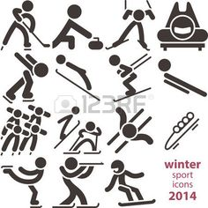 Sport Icon, Sports, Crafts, Winter, Hs Sports, Manualidades, Sport, Handmade Crafts, Arts And Crafts