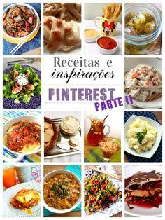 14 receitas lindas e inspirações do Pinterest -- parte II
