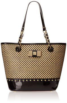 0f83e7270e8aed Anne Klein Check Mate Shoulder Bag