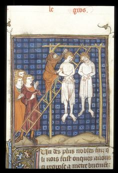 British Library Royal 16 G VI f. 306 Execution