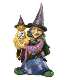 Another great find on #zulily! Heartwood Creek Mini Witch Figurine #zulilyfinds