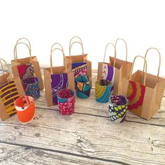 Set of 12 Wedding favours, Bridemaid gifts. African wedding gifts, African wedding favours, African party favour, African small gift