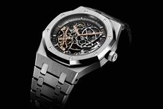 Audemars Piguet Royal Openworked Double Balance Wheel reference 15407.