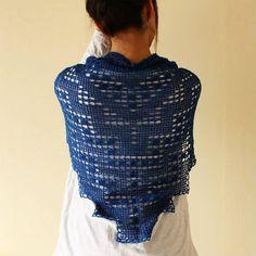 filet crochet scarf KIT