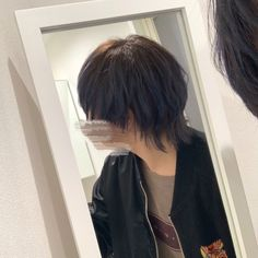 Mullet Haircut, Mullet Hairstyle, Korean Short Hair, Short Hair Cuts, Japanese Short Hair, Edgy Short Hair, Edgy Hair, Boys Long Hairstyles, Pretty Hairstyles