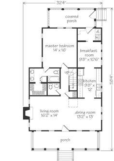 Coosaw River Cottage floorplans Exteriors Plans Pinterest