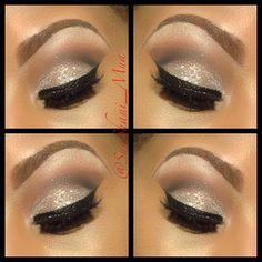 Sandy neutrals - eyeshadow