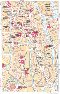 ghent map tourist attractions