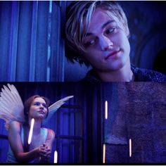 Romeo + Juliet- I looove this movie! Leo is so hot I could die in his first scene!