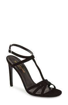 Saint Laurent 'Jane' T-Strap Sandal (Women)