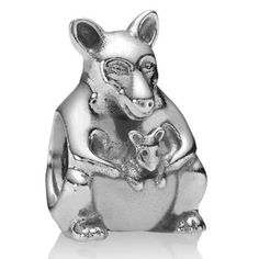 pandora kangaroo charm | Home > Pandora Charms for Mom > Pandora Kangaroo with Baby Joey Charm ...