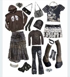 Outfit Ideas, Aesthetics, Spring Summer, Street Style, Boho, Hair Styles, Fitness, Cute, Outfits