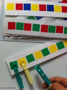 Montessori-Manipulations-Workshops - S Motor Skills Activities, Montessori Activities, Preschool Learning, Kindergarten Math, Classroom Activities, Learning Activities, Preschool Activities, Teaching, Preschool Pictures