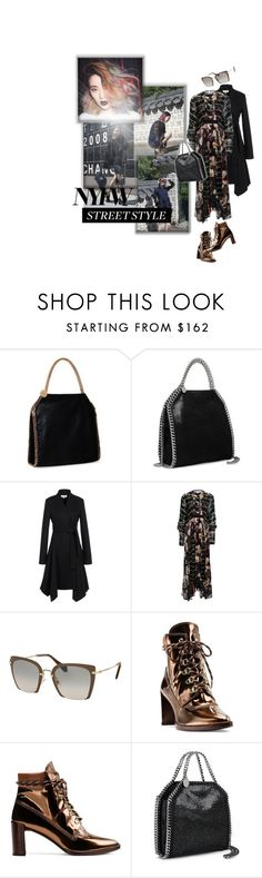 """""""Pack for NYFW"""" by ivyargmagno ❤ liked on Polyvore featuring STELLA McCARTNEY, Miu Miu, Stuart Weitzman, GetTheLook, StreetStyle, NYFW, womensFashion and styleresolution"""