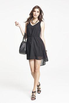 Ensemble - L'Aubainerie  Robe Noir, Turquoise #267926 24,98  Sandales Noir #268221 34,98 Rompers, Turquoise, Dresses, Fashion, Black Sandals, Dress Black, Woman Clothing, Vestidos, Moda