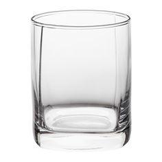 IKEA - ДАРРОКА, Стакан д/виски, Только для холодных напитков.Объем 270 мл.Можно мыть в посудомоечной машине.