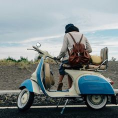My vespa, my love