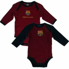 FC Barcelona - Authentic La Liga 2 pack Baby Bodysuits TX 3/6 months by F.C. Barcelona. $29.38. Quality guaranteed. Official Licensed Product. Imported from the EU - Ships from USA. 100% cotton. 2 Pack Long Sleeve Bodysuit to fit 3/6 months (68cm). We buy our Barcelona baby clothes direct from the club's representatives in the EU. All Barcelona baby clothes come in official Barcelona packaging with hologram and/or bar codes.
