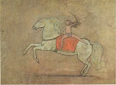 A horsewoman, 1905 Pablo Picasso - Rose Period
