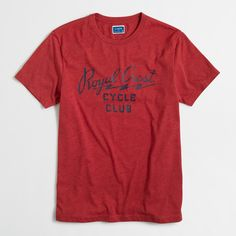 Factory royal crest tee : Tees & Polos   J.Crew Factory