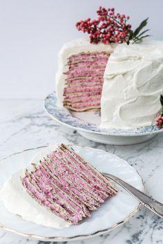 .Almond Crepe Cake