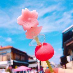 愛知県にある国宝「犬山城」は桜の名所として有名ですが、注目すべきはその城下町にも。桜に負けない美しさを放つ串グルメが、城下町の食べ歩きフードとして話題になっています。その名も「舞のかざし」。「桜屋菓舖」の美しい串スイーツなんですよ♩