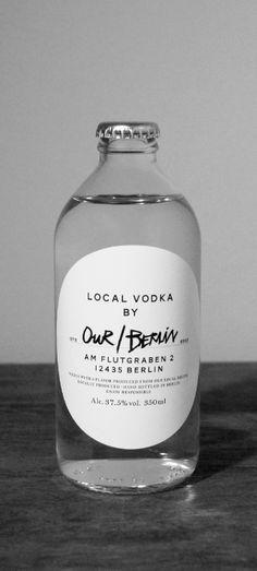 """Our/Berlin Vodka: Wie sich Pernod Ricard und Vin & Sprit (ABSOLUT Vodka) zusammen mit einer PR Agentur als Start-up-Distillery inszenieren. Our/Stockholm oder Our/Paris könnten schnell folgen, wenn das """"Local""""-Konzept ankommt."""
