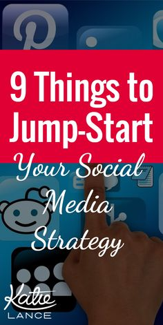 NEW post! New to social media or just looking to give your online presence a boost? Check out these 9 tips for jump-starting your social media strategy.