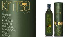 Kritsa /Gaea: one of the worlds best olive oils by DASC Branding, Athens , via Behance