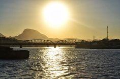 Pôr do sol em Vitória