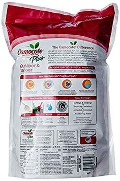 Amazon.com : Osmocote Plus Outdoor and Indoor Smart-Release Plant Food, 8-Pound (Plant Fertilizer) : Fertilizers : Garden & Outdoor